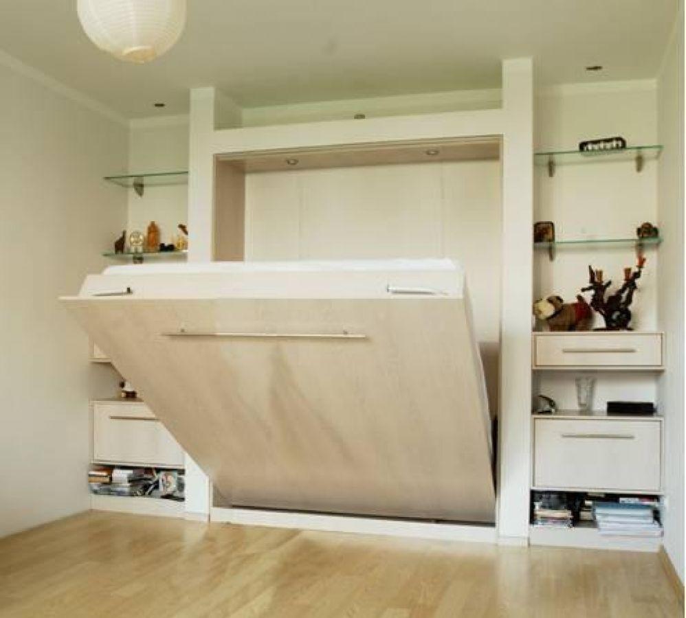 интерьер малогабаритных квартир с откидной кроватью