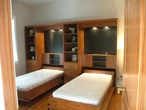 Комплекс из двух шкафов кроватей  - мебель на заказ