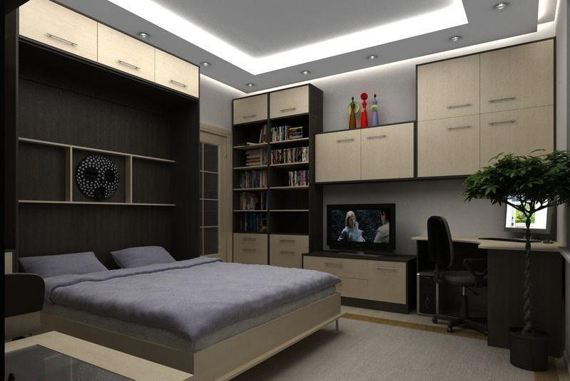Мебель на заказ. Шкаф-кровать. Режим сна